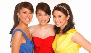 Mariel Rodriguez, Toni Gonzaga, and Bianca Gonzalez (MNS photo)