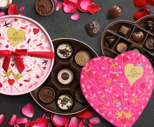 All products from the limited edition GODIVA Valentine's Day collection are now available at your local GODIVA store and on GODIVA.com until Feb. 14, or while supplies last. Visit godiva.com/seasonal-collection for more information and for store locations.