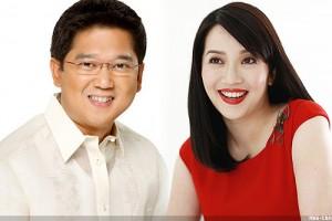 Herbert Bautista and Kris Aquino (MNS Photo)