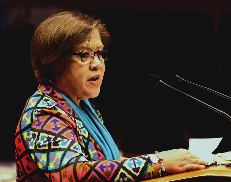 Senator Leila de Lima ,President Benigno Aquino III , New Bilid Prison, Justice Secretary, Vitaliano Aguirre II , Liberal Party