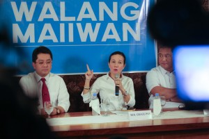 Senator Grace Poe (MNS photo)