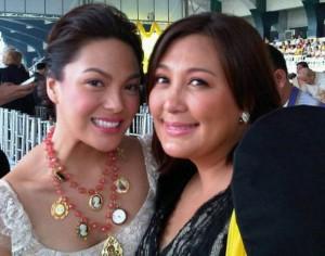 KC Concepcion and Sharon Cuneta (MNS photo)