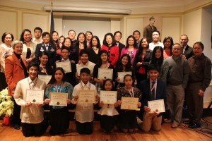 Outstanding Filipino-American students