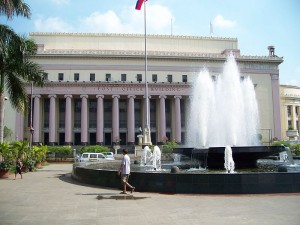 Manila Central Post Office, headquarter of the Philippine Postal Corporation (Philpost) Photo courtesy of Scandi https://commons.wikimedia.org