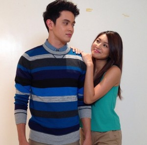 Nadine Lustre and James Reid (MNS photo)
